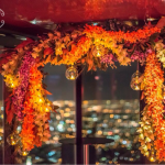 Floral Inspired Wedding Arch @ Eureka Tower