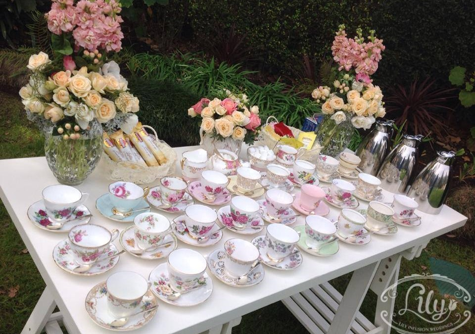 How to style a high tea wedding in the Gardens