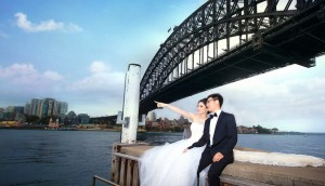 Many international students return to Sydney for their weddings. (Photos: XP Wedding Studio)