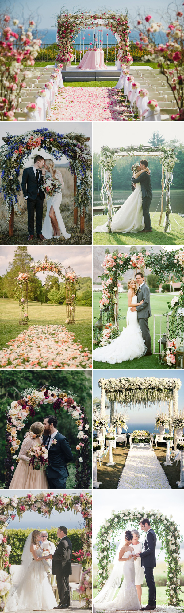 Credits (from the top left to right): Nisie's Enchanted Florist / Bek Grace / M2 Photography / Krystal Mann / Christianne Taylor Weddings / Eric Ronald Photography / Axioo Photography / Sergey Green Photography / Virgil Bunao