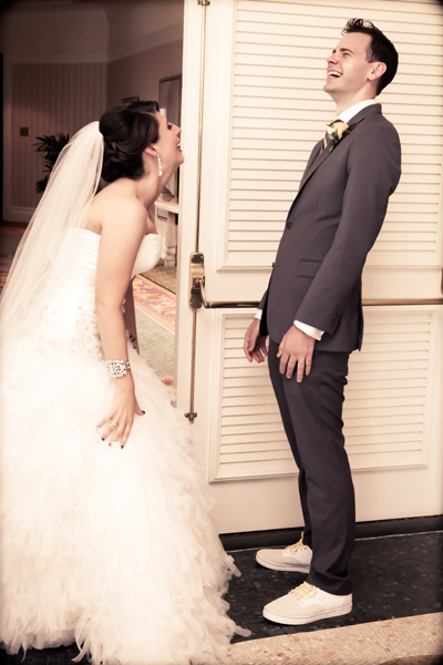 Sheer joy crosses both of their faces upon seeing each other.  Photo Credit: Disney Fine Art Photography & Video