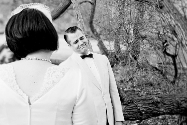 Doug feels like the happiest man in the world upon seeing Rosa. Photo Credit: Julie Pepin Photography