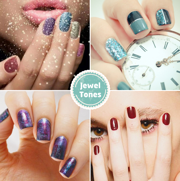 Credits (from the top, left to right): Gabytaangeles on Tumblr / Pshiiit / Will Paint Nails for Food / Fashionisers