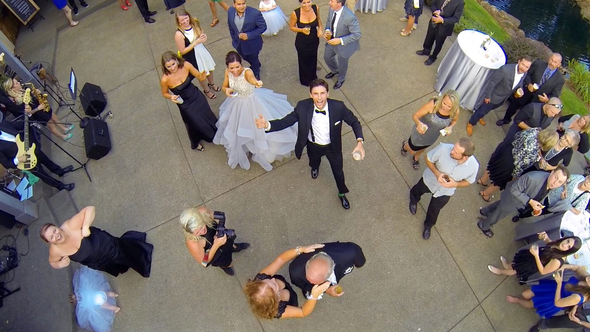 Aerial Wedding Photography and Videography